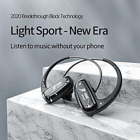IPX7 Waterproof Headphones Wireless Bluetooth Earphone 32GB MP3 Player In-ear Stereo Music Earbuds Sports HiFi Headset Swim