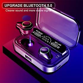 T10 Wireless Earbuds TWS Headphones Bluetooth5.0 Stereo Waterproof IPX7 LED Power Display for Mobile Phone