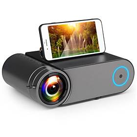YG420 Mini Projector 3500 Lumens WIFI Sync Phone 720P Projector Native 1280x720 Support 1080P Video HD YG421 LED Beamer Portable HDMI 3D Home Theater