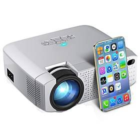 D40W LED Mini Projector Video Beamer for Home Cinema 1600 Lumens Support HD Wireless Sync Display For iPhone/Android Phone D40W