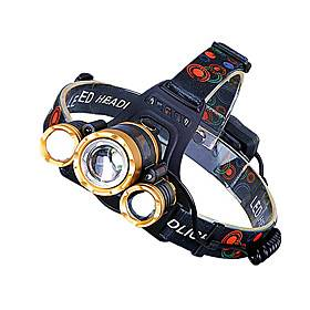 LED Headlamp Zoomable T6 Head Flashlight Torch Rechargeable Head Light