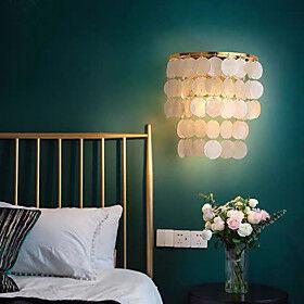 LED Wall Light Modern Bedside Lamp Decorative Wall Sconces Tricolor Light Source Living Room Bedroom Dining Room Kids Room Iron Wall Light 110-120V 220-240V 5