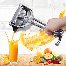 Silver Metal Manual Juicer Fruit Squeezer Juice Lemon Orange Press Household Multifunctional Kitchen Drinkware Supplies