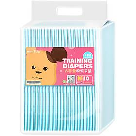 Dog Pets Cleaning Pet Supplies Non-woven Dog Clean Supply Diaper Training Pee Pads Breathable Disposable Absorbent Pet Grooming Supplies 50 pcs 20 PCS 40 PCS 1