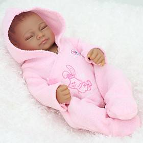 NPKCOLLECTION 12 inch NPK DOLL Reborn Doll Girl Doll Baby Girl Newborn lifelike Cute Hand Made Child Safe Full Body Silicone with Clothes and Accessories for G