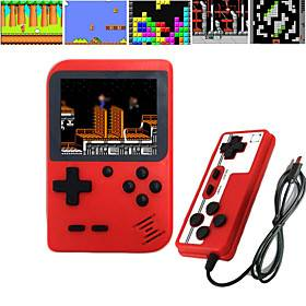 Handheld Game Player Game Console Rechargeable Professional Level Simple Mini Handheld Pocket Portable Built-in Game Card Classic Theme Retro Video Games with