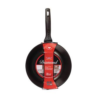 "OTHER BRANDS [NEW] Korea HOME FRYING Non Stick Cooking Fry Pan Wok 28cm 11""""  - Size: 6"