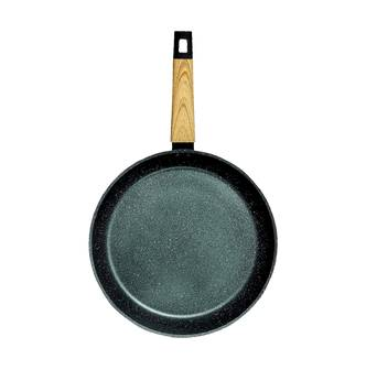 """Concord Art of Cooking 12"""""""" Granite Nonstick Coated Cast Aluminum Frying Pan Induction Compatible #Forest Green  - Size: 1"""