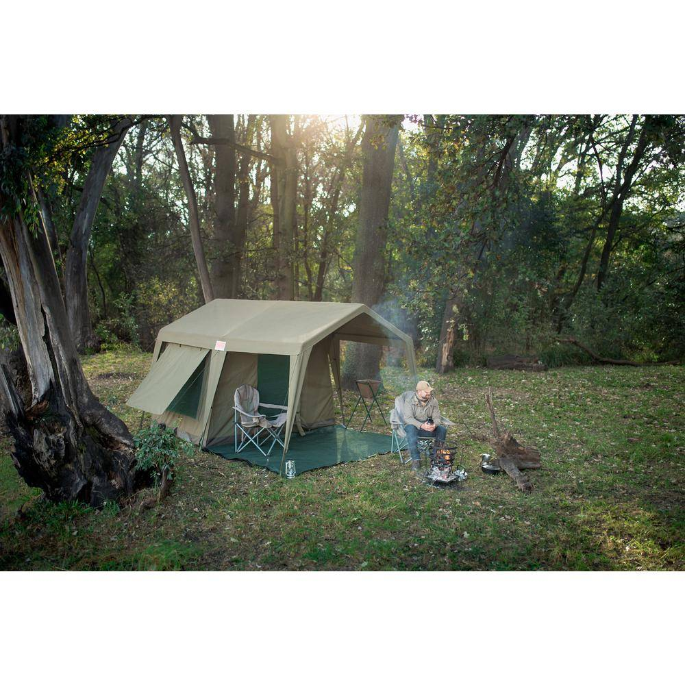 AFFORDABLE BRANDS Delta Zulu Combo Gazebo and Chalet Tent