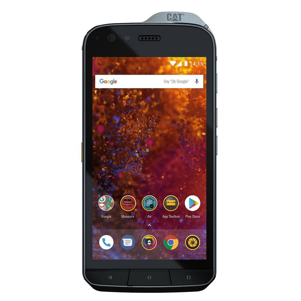 CAT S61 Rugged Waterproof Smartphone with Integrated Thermal Imaging by Flir