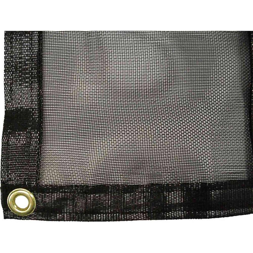 Monticello Shade Cloth for 8 ft. x 24 ft. Greenhouse, Blacks