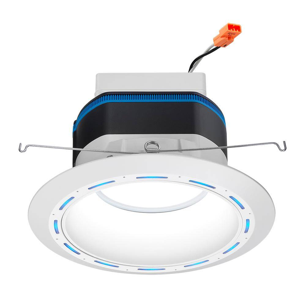 Juno 6 in. Tunable Integrated LED Recessed Trim AI Speaker Light with Alexa Built-In CA Only
