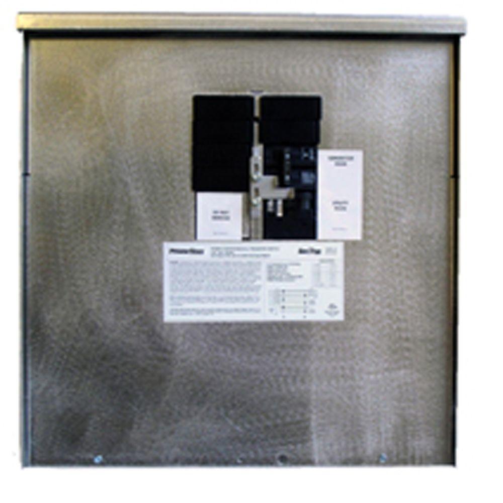 Generac 200 Amp 7,500-Watt Non-Fuse Outdoor Manual Transfer Switch