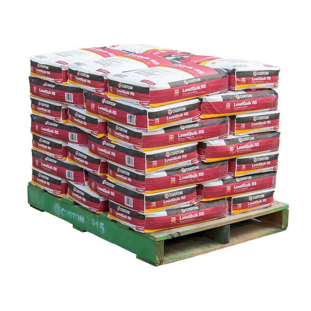 Custom Building Products LevelQuik RS 50 lbs. Self-Leveling Underlayment (35 Bags / Pallet)