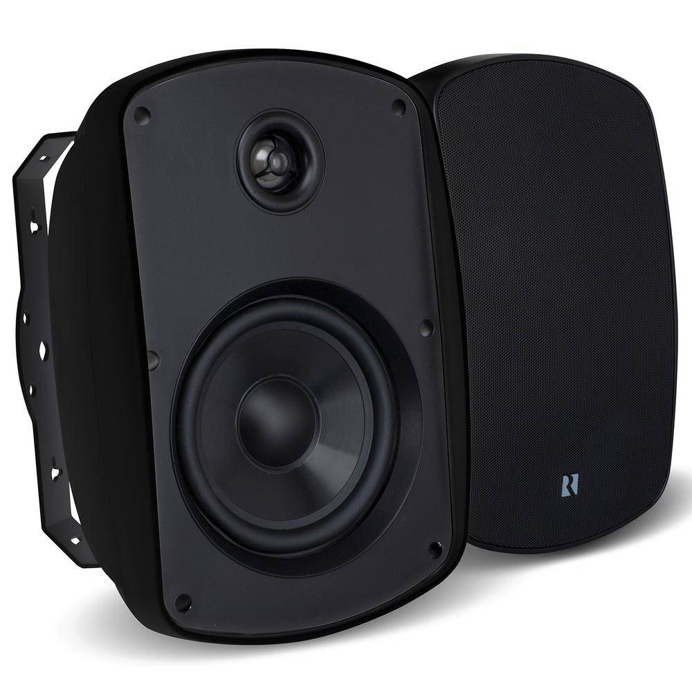 RUSSOUND Acclaim 5 Series OutBack 5.25 in. 2-Way MK2 Outdoor Speakers in Black