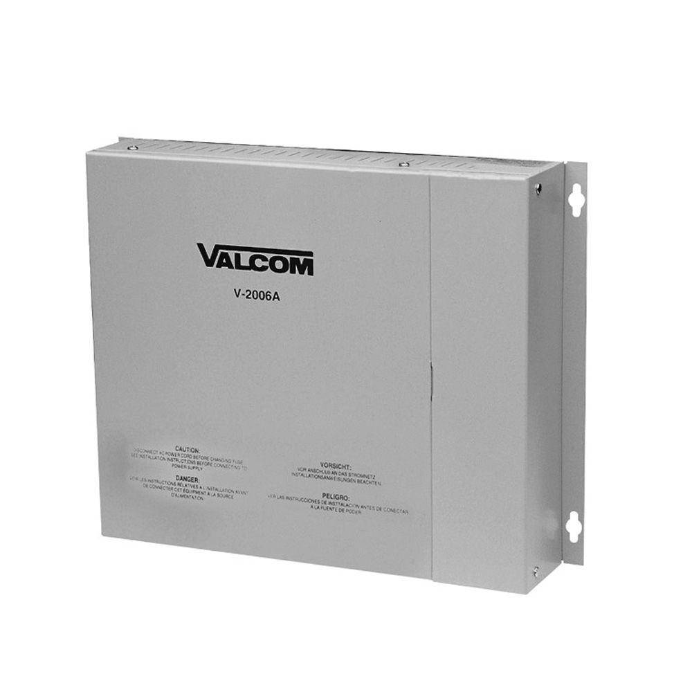 Valcom 6-Zone 1-Way Page Control with Power