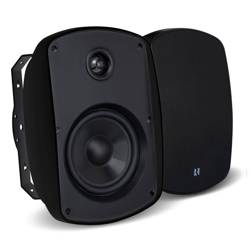RUSSOUND Acclaim 5 Series OutBack 6.5 in. 2-Way MK2 Outdoor Speakers in Black