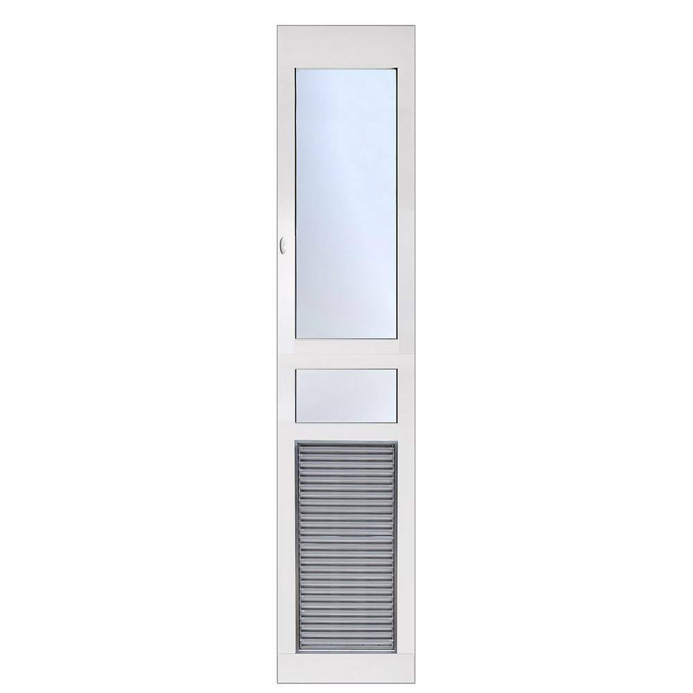 High Tech Pet 10.5 in. x 21.25 in. Weather and Energy Efficient Pet Door with Magnetic Closure for Extra Tall Height Patio Door