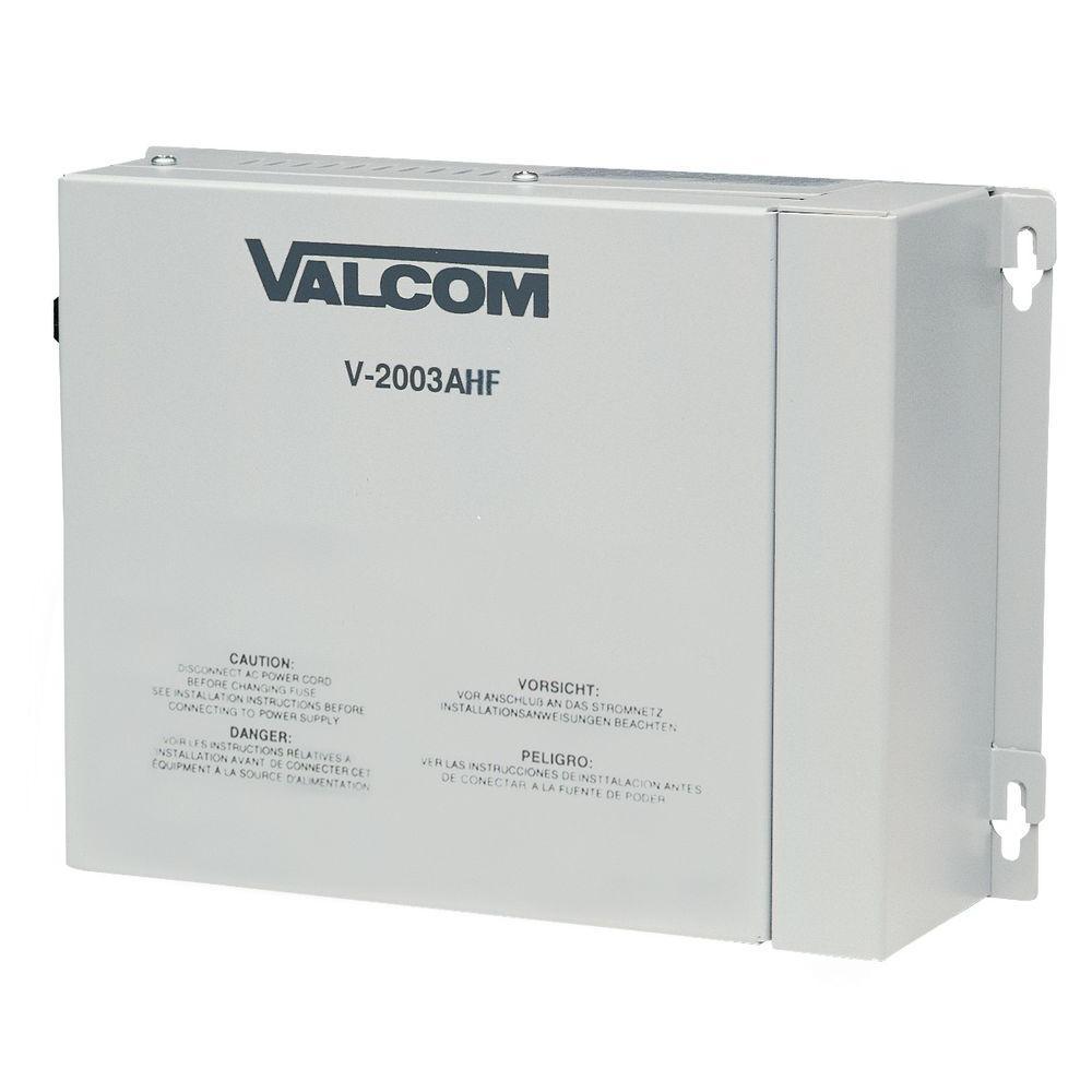 Valcom 3-Zone Talkback Page Control with Power