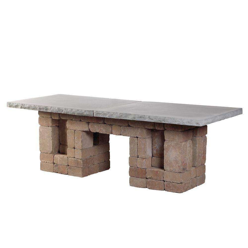 Necessories Desert Rectangle Patio Dining Table