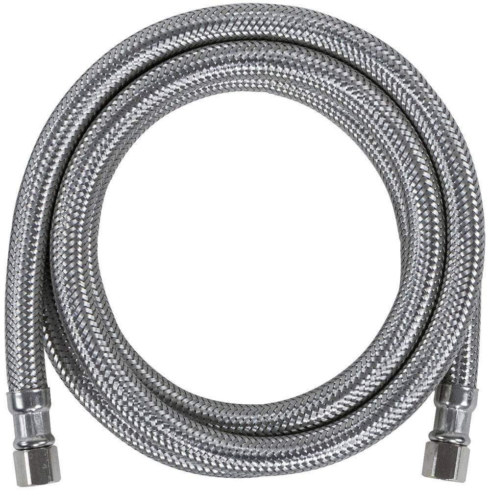 CERTIFIED APPLIANCE ACCESSORIES 5 ft. Braided Stainless Steel Ice Maker Connector (40-Pack)