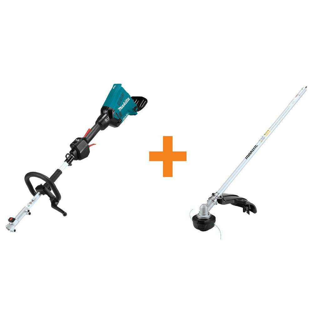 Makita 18-Volt X2 (36-Volt) LXT Lithium-Ion Brushless Cordless Couple Shaft Power Head (Tool-Only) String Trimmer Attachment