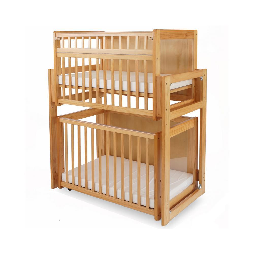 LA Baby Natural Modular Window Crib System