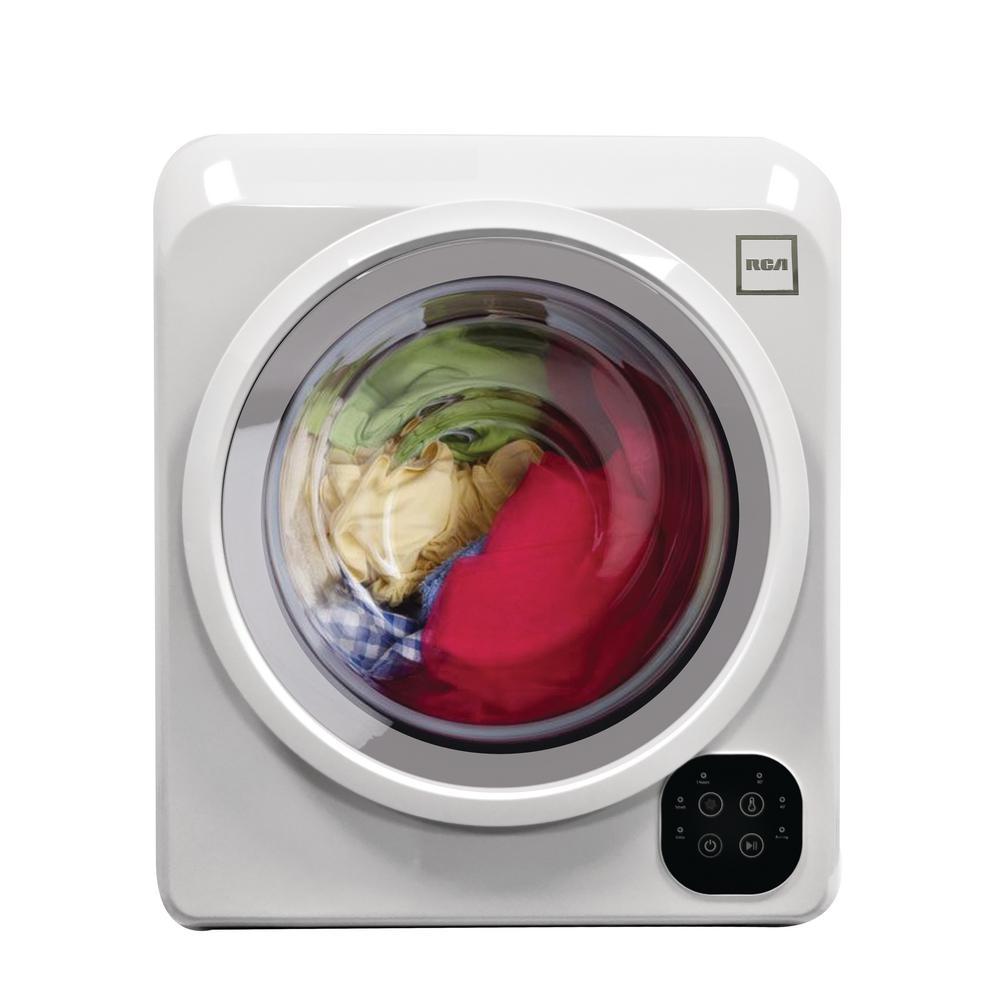 RCA 13 lb. Compact Clothes Dryer, White