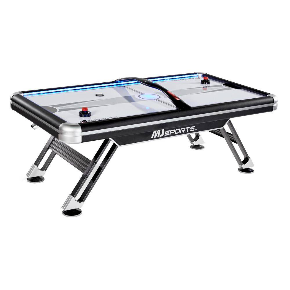 MD Sports Titan 7.5 ft. Air Powered Hockey Table with Overhead Scorer
