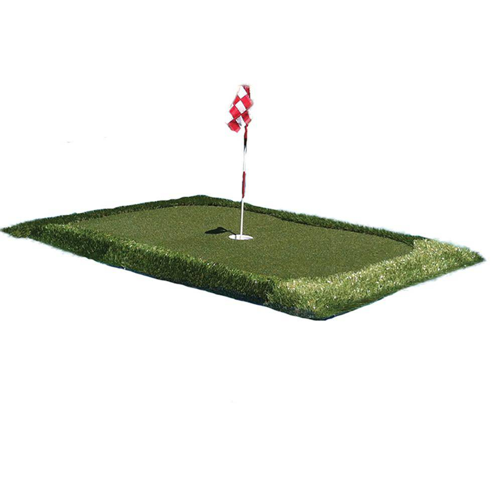 PLAYFIELD USA 4 ft. x 6 ft. Outdoor Floating Golf Green