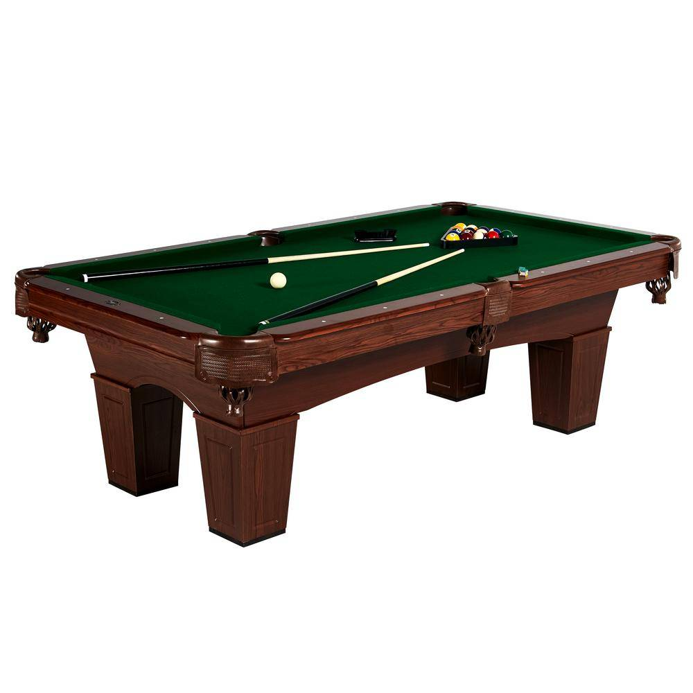 MD Sports 8 ft. Square Leg Billiard Table