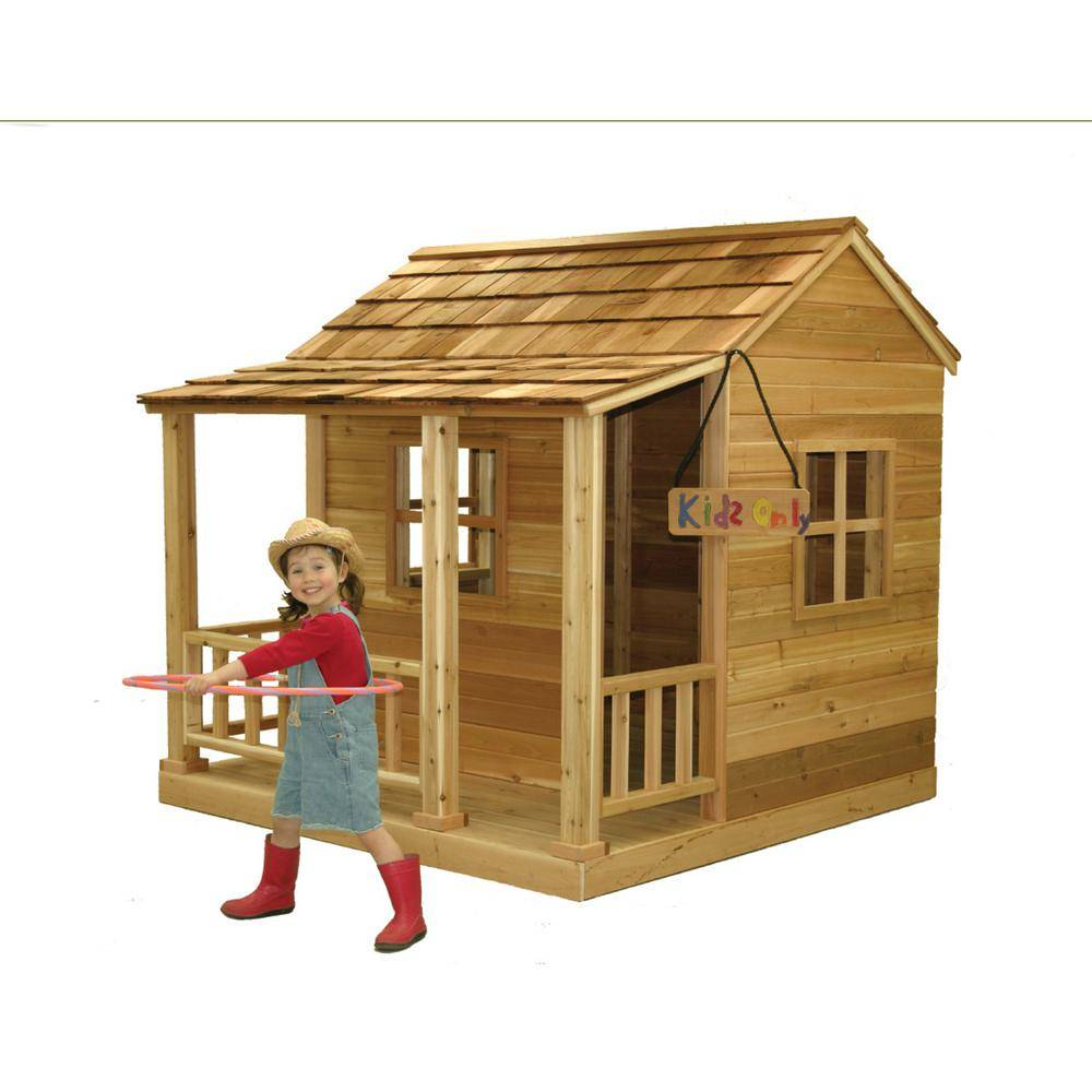 Outdoor Living Today 6 ft. x 6 ft. Little Squirt Playhouse