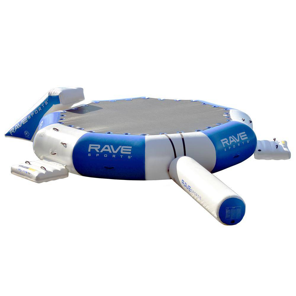 RAVE Sports Splash Zone Plus 16 ft. All-in-One Water Bouncer Park