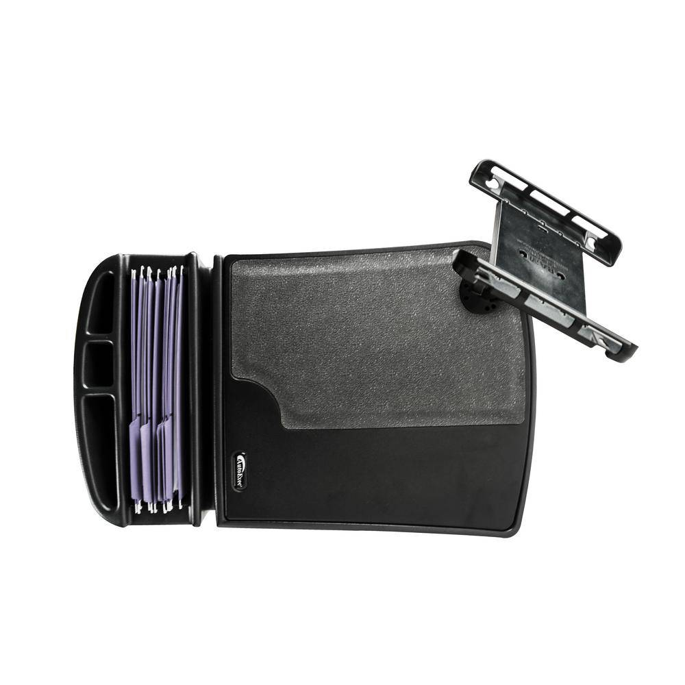 AutoExec Gripmaster with Built-In Power Inverter and Tablet Mount Black
