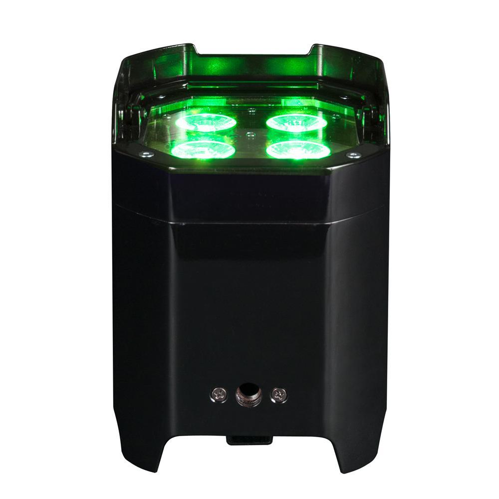 American DJ Element Black 10-Watt Hex IP Wifly DMX RBAW +UV Par High Bay Integrated LED Commercial Light Type