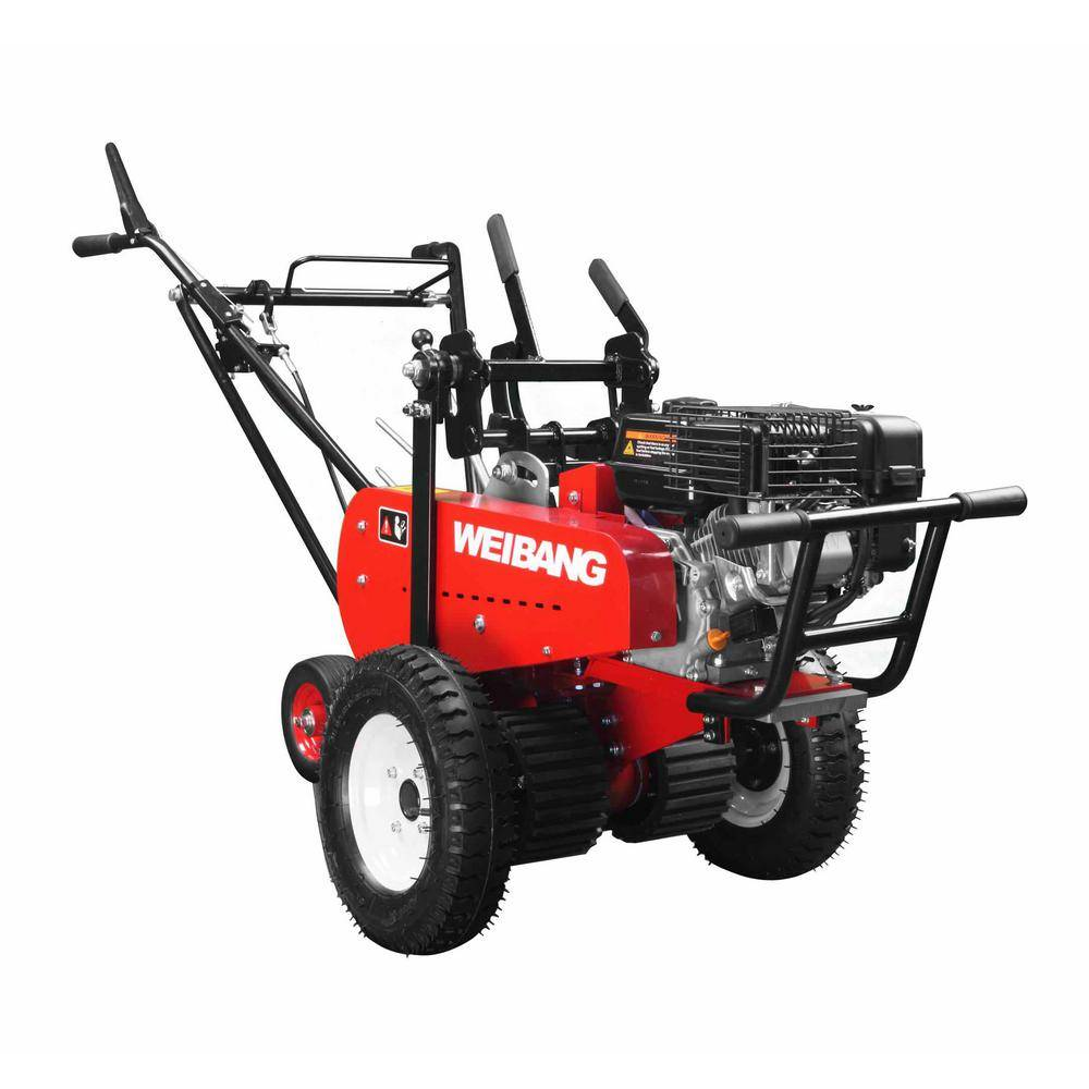 Weibang Sod Cutter Pro 18 in. 6-HP Engine Gas Commercial Walk Behind Mower