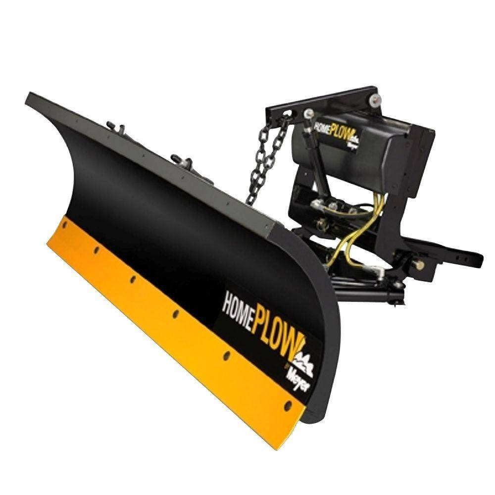 Home Plow by Meyer 80 in. x 22 in. Residential Power Angle Snow Plow