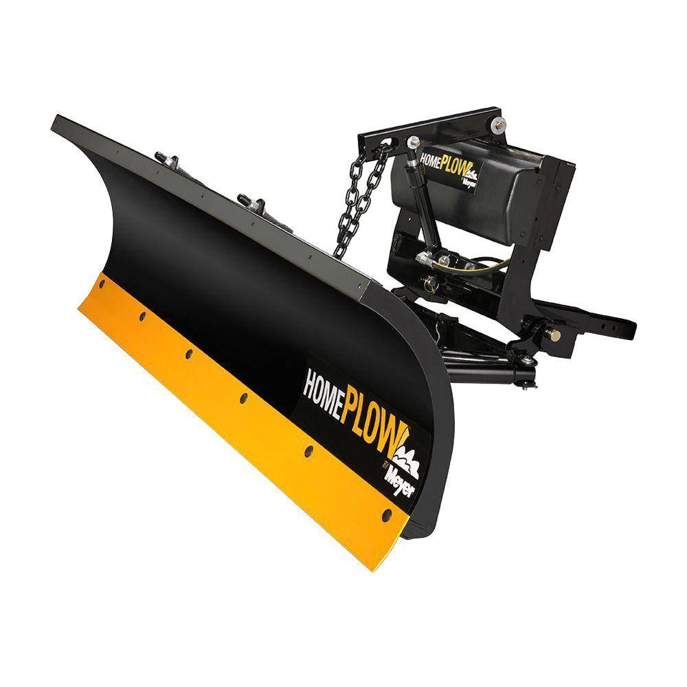 Home Plow by Meyer 80 in. x 22 in. Residential Snow Plow with Patented Auto Angle Feature