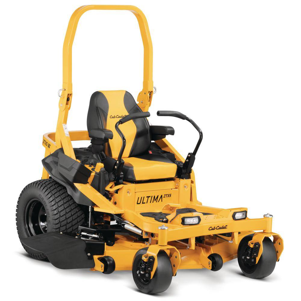 Cub Cadet Ultima ZTX5 60 in. Fab Deck 24 HP Kawasaki V-Twin Zero Turn Mower with Roll Over Protection and Front Wheel Suspension