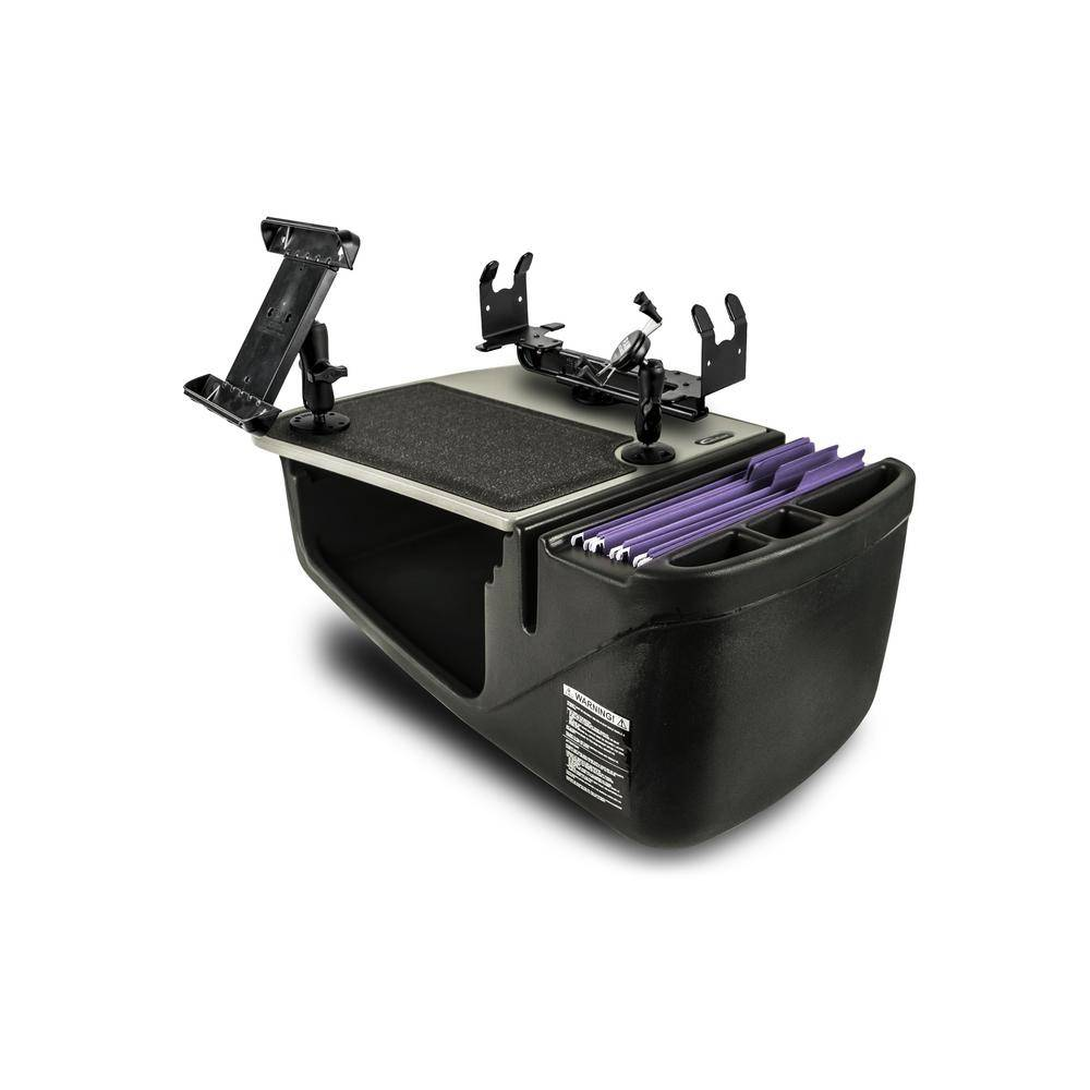 AutoExec Efficiency GripMaster with X-Grip Phone Mount Tablet Mount and Printer Stand