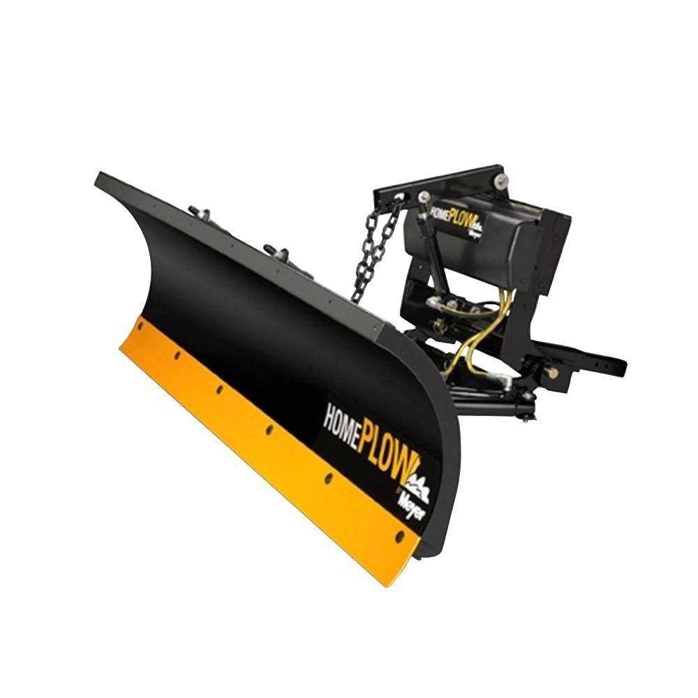 Home Plow by Meyer 90 in. x 22 in. Residential Power Angle Snow Plow