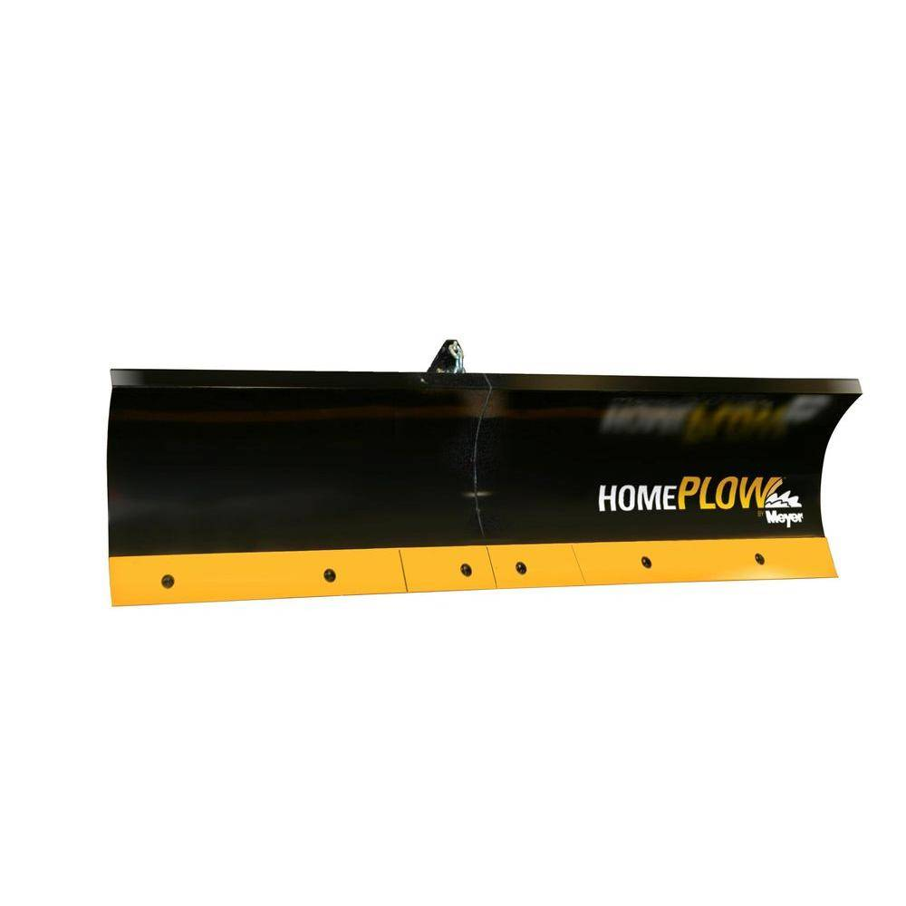 Home Plow by Meyer 80 in. x 18 in. Residential Auto-Angling Snow Plow with Electric Lift
