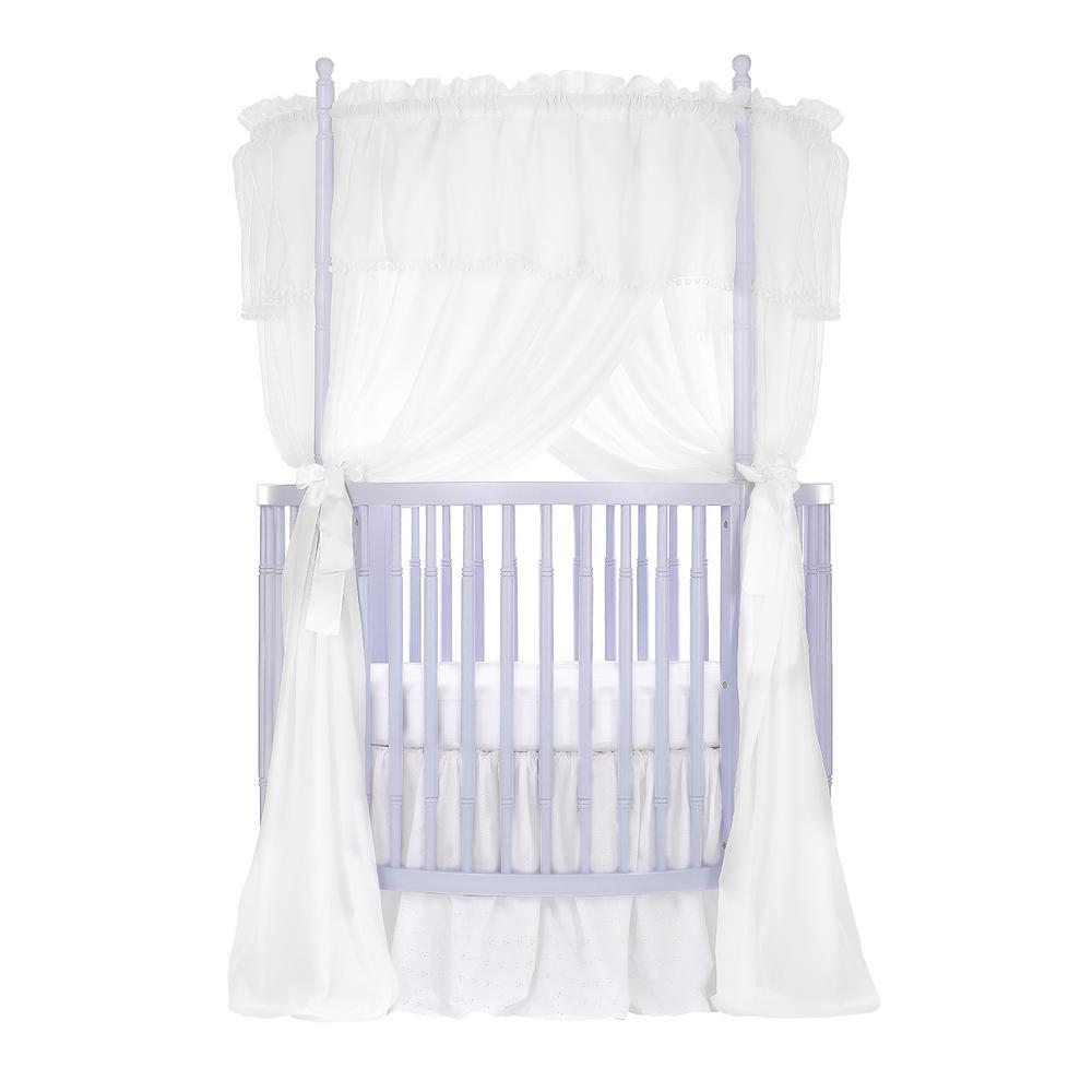 Dream On Me Sophia Posh Lavender ice Circular Crib