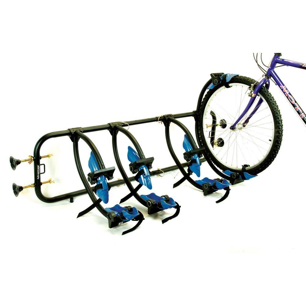 Advantage SportsRack 120 lbs. Capacity Bed Rack Elite 4-Bike Truck Bed Bike Rack