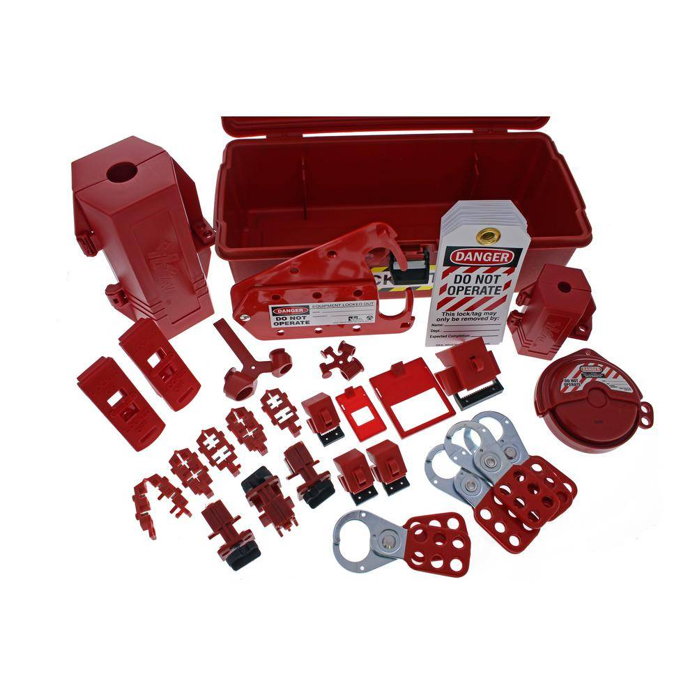 Ideal Plant Facility Lockout/Tagout Kit