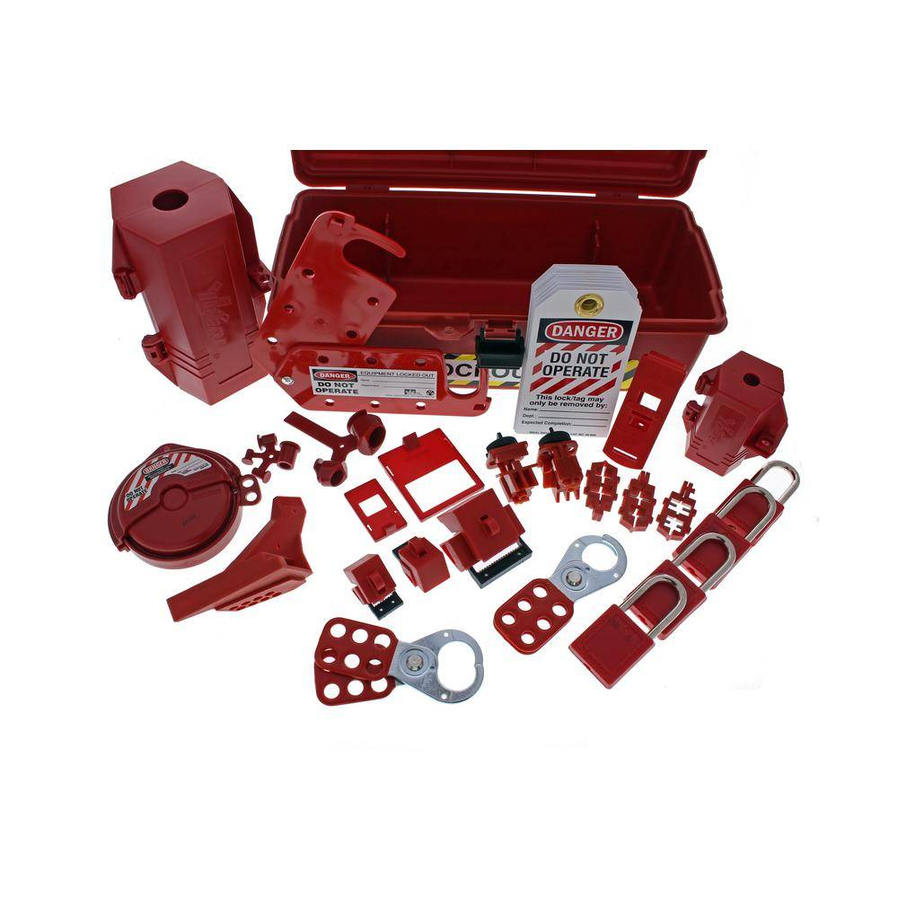 Ideal Industrial Lockout/Tagout Kit