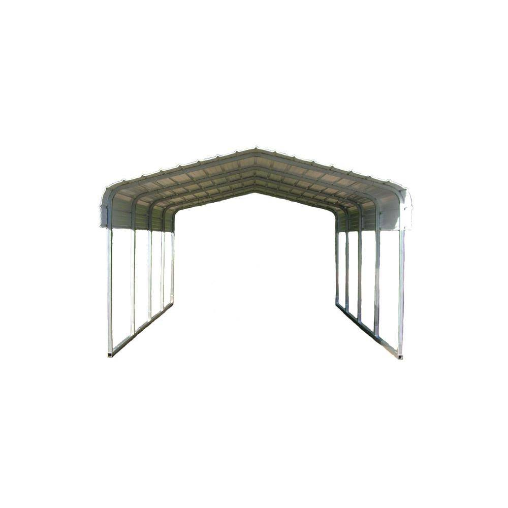 VersaTube 12 ft. W x 29 ft. L x 12 ft. H Steel Carport