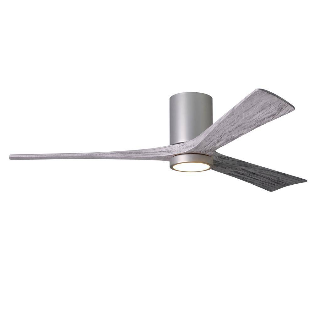 Atlas Irene 60 in. LED Indoor/Outdoor Damp Brushed Nickel Ceiling Fan with Light with Remote Control and Wall Control
