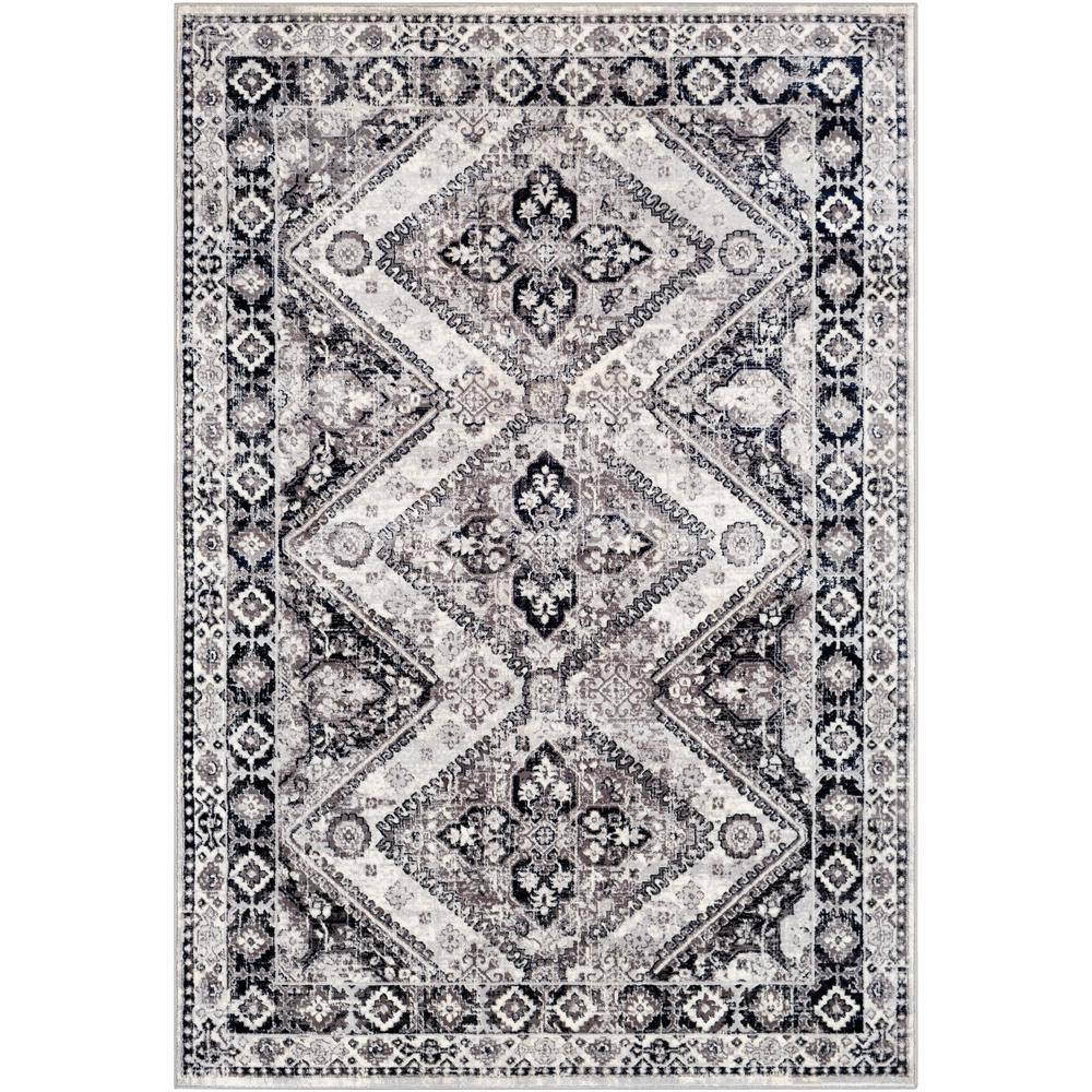Artistic Weavers Dunraven Gray 9 ft. x 12 ft. 3 in. Moroccan Area Rug