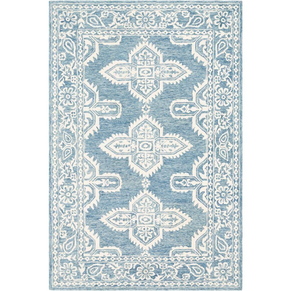 Artistic Weavers Asuncion Light Blue 9 ft. x 12 ft. Moroccan Area Rug